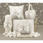 Hortense B. Hewitt Co. . HBH 6PC SATIN SET IVORY