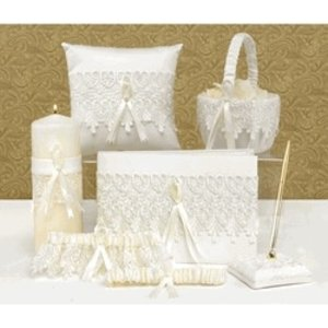 Hortense B. Hewitt Co. . HBH 6PC LACE SET IVORY