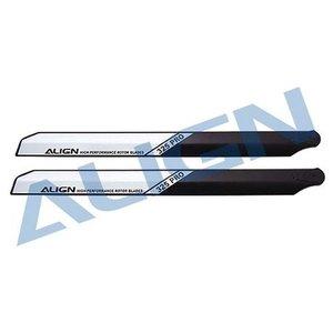 Align RC . AGN 325 PRO WOOD BLADE BLACK/WHITE