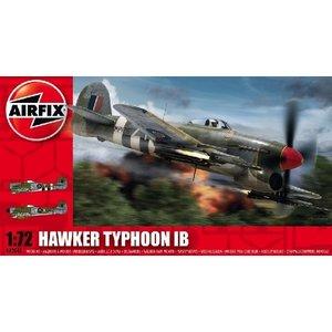Airfix . ARX 1/72 HAWKER TYPHOON (NEW TOOL)