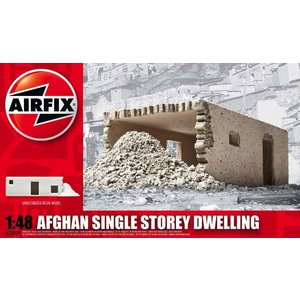 Airfix . ARX 1/48 AFGHAN SINGLE STORY DWELL