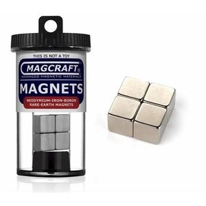 1/2'' Rare Earth Cube Magnets