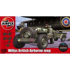 Airfix . ARX 1/72 WILLYS BRITISH AIRBORNE JEEP