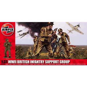 Airfix . ARX 1/32 BRITISH INFANTRY SUPP SET