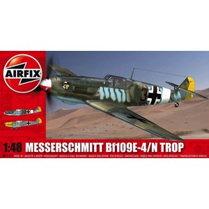 Airfix . ARX 1/48 MESSERSCHMITT BF109E TROPICAL