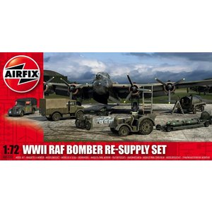 Airfix . ARX 1/72 WWII BOMBER RE-SUPPLY SET