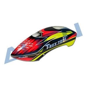 Align RC . AGN 700SPEED FUSELAGE RED/YEL