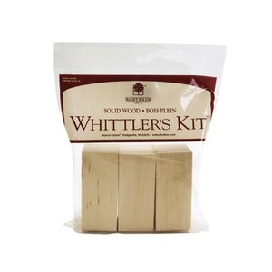 Walnut Hollow (art supp) . WNH WHITTLERS KIT BASSWOOD  3PC