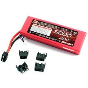 Common Sense R/C . CSR LECTRON PRO 7.4 V-5000MAH 40C