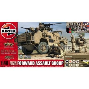 Airfix . ARX 1/48 BRIT FRWRD ASSULT GRP