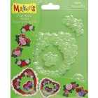 Makins . MAK MAKINS HEARTS PUSH MOLD
