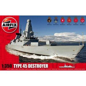 Airfix . ARX TYPE 45 DESTROYER 1/350
