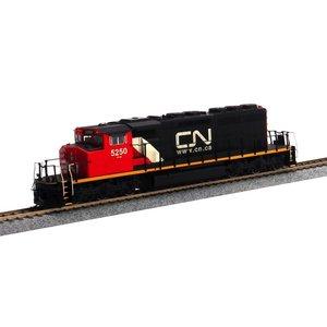 Intermountain Railway Co . IMR HO ASSMBL SD40-2W LOCO W/SND