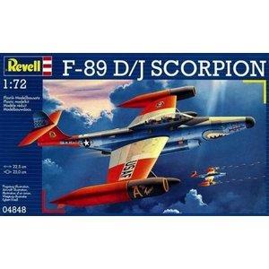 Revell of Germany . RVL 1/72 F-89 D/J SCORPION