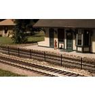 Atlas Model Railroad Co . ATL HAIRPIN STYLE FENCE HO