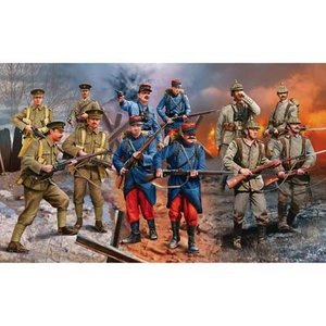 Revell of Germany . RVL 1/35 WWI GER/BRIT FRCH INF