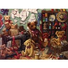 Cobble Hill . CBH Teddybear Workshop 275Pc Puzzle