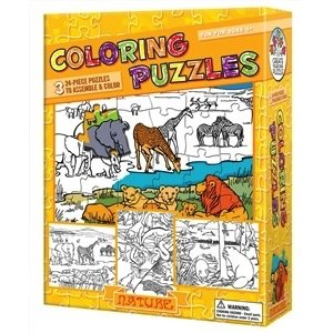 Cobble Hill . CBH NATURE COLORING PUZZLE