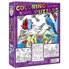 Cobble Hill . CBH BIRDS/BTTRFLY COLORING PZ