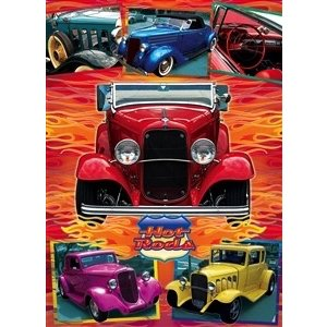 Cobble Hill . CBH HOT RODS 1000PC