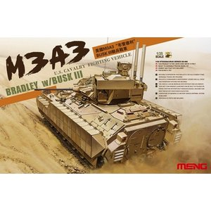 Meng . MEG 1/35 US M3A3 BRADLEY CAVARLY