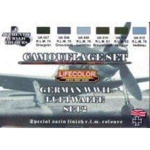 Life Color Paint . LFC GER WWII LUFTWAFFE #2 CAMO