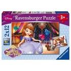 Ravensburger (fx shmidt) . RVB Princess Sofia 2X 12Pc Puzzles
