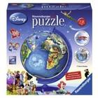 Ravensburger (fx shmidt) . RVB Disney Globe (180Pc) 3D Puzzle