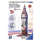 Ravensburger (fx shmidt) . RVB Big Ben 3D 216Pc Flag Edition
