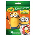 Crayola . CRY MINIONS MINI COLOR PAGES