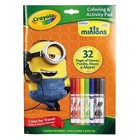Crayola . CRY MINION COLOR ACT BOOK