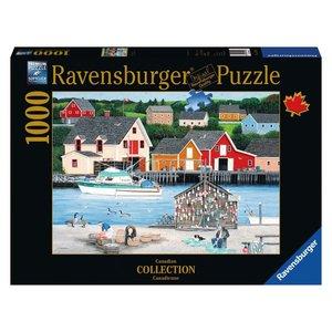 Ravensburger (fx shmidt) . RVB FISHERMAN COVE 1000PC