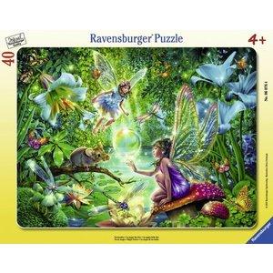 Ravensburger (fx shmidt) . RVB FAIRY MAGIC PUZZLE 40PC
