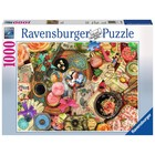 Ravensburger (fx shmidt) . RVB Vintage Collage 1000Pc Puzzle