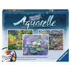 Ravensburger (fx shmidt) . RVB Watercolor Pbn Monet