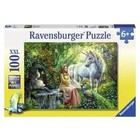 Ravensburger (fx shmidt) . RVB Princess And  Unicorn Puzzle