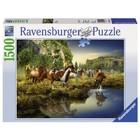 Ravensburger (fx shmidt) . RVB WILD HORSES 1500PC