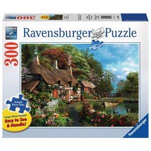 Ravensburger (fx shmidt) . RVB COTTAGE ON LAKE 300PC