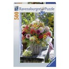 Ravensburger (fx shmidt) . RVB Beautiful Flowers 500Pc Puzzle