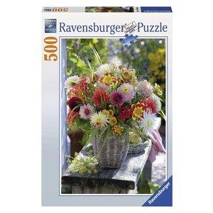 Ravensburger (fx shmidt) . RVB BEAUTIFUL FLOWERS 500PC