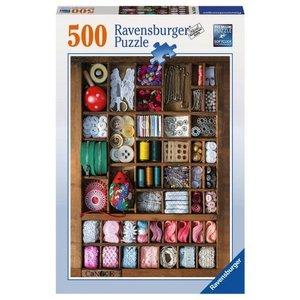 Ravensburger (fx shmidt) . RVB SEWING BOX 500PC