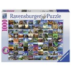 Ravensburger (fx shmidt) . RVB 99 Beautifal Places 1000Pc
