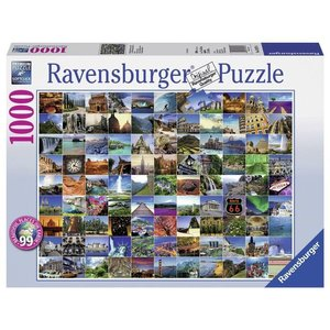 Ravensburger (fx shmidt) . RVB 99 BEAUTIFAL PLACES 1000PC