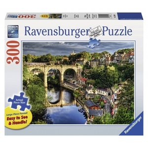 Ravensburger (fx shmidt) . RVB OVER THE RIVER 300PC