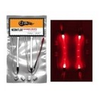 FIREBRAND RC . FBR NEONFLUX LIGHT STRIPS - ROCKET RED