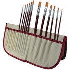 Art Advantage . ART GOLD NYLON BRUSH SET 12