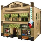 Woodland Scenics . WOO DUGAN'S PAINT STORE HO SCALE BUILDING