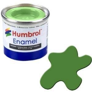 Humbrol Paint . HUM ENAMEL CLEAR GREEN