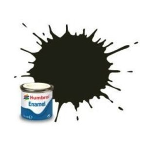 Humbrol Paint . HUM ENAMEL - GUN METAL METALLIC