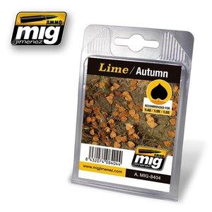 Ammo of MIG . MGA LIME LEAVES AUTUMN